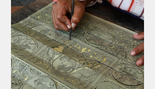 The palm leaf etching: An ancient Odisha heritage - Utkal Today