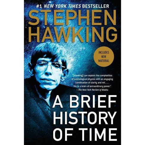 A brief history of Stephen Hawking, book A Brief History of Time