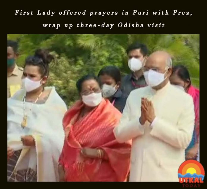 First-lady-offers-prayers-in-Puri-ut