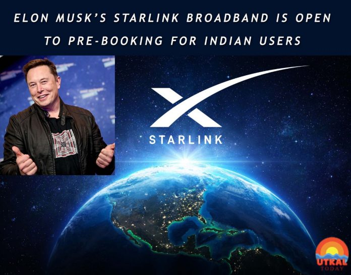 Pre-booking-of-Starlink-in-India-Utkal-Today