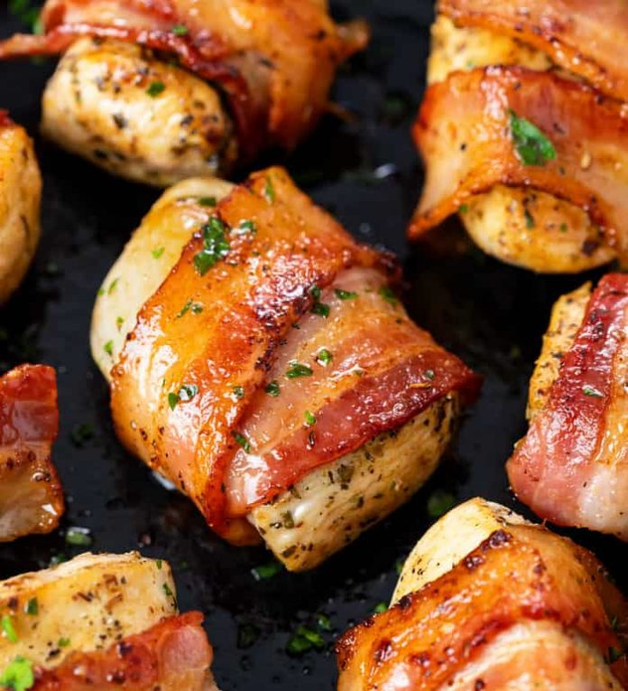 Bacon-wrapped-Cream-Cheese-Stuffed-Chicken-Breast-Utkal-Today