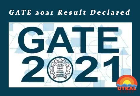 GATE-2021-result-Utkal-Today
