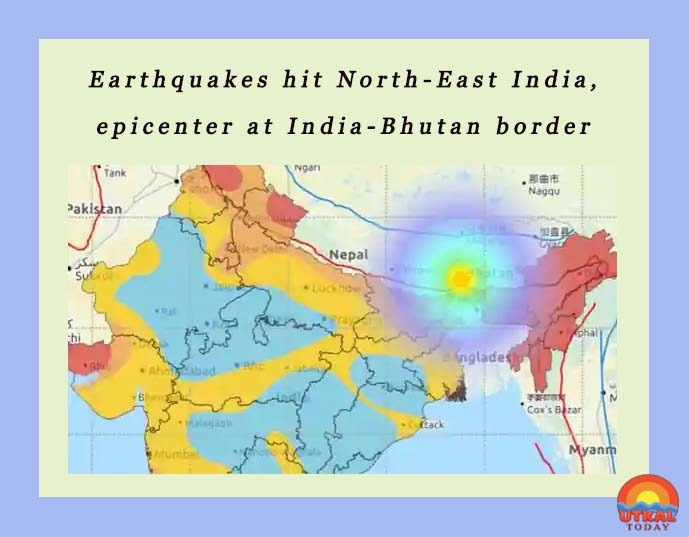Earthquakes-hit-North-East-India-Utkal-Today