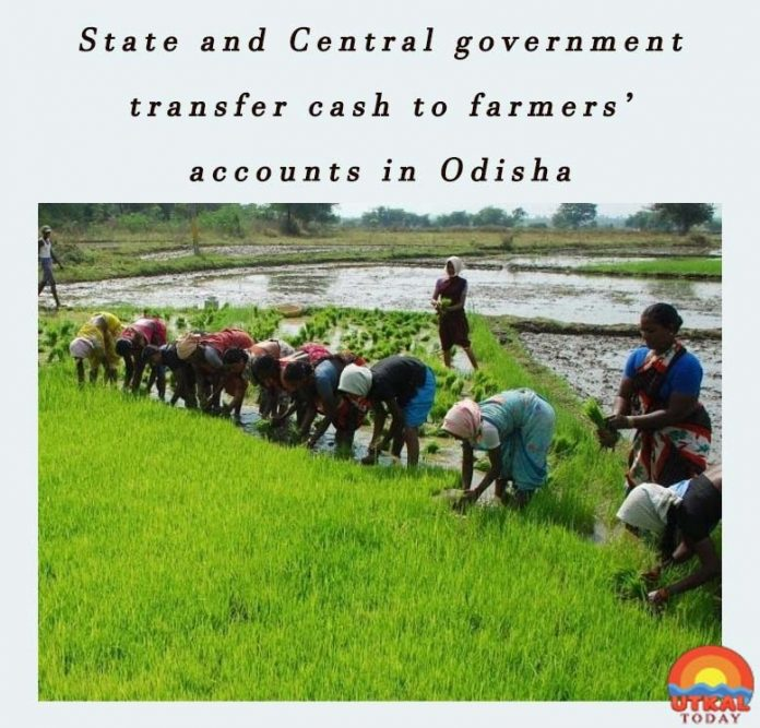 State-and-central-government-transfer-cash-to-farmers-Utkal-Today