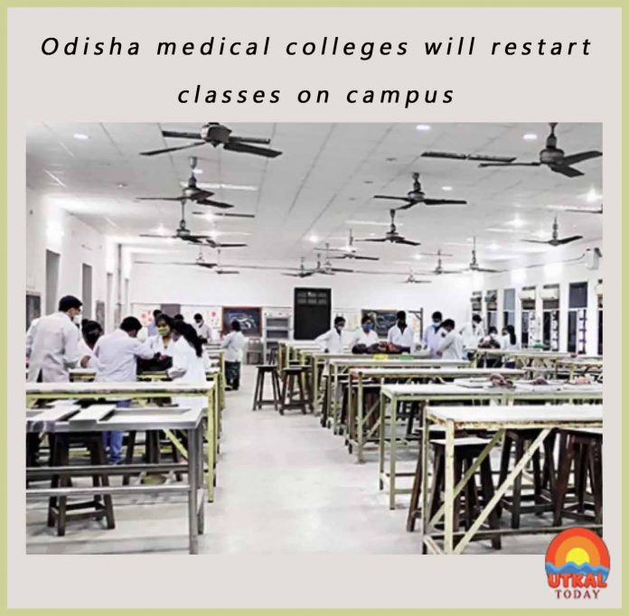 Odisha-medical-colleges-will-restart-classes-cover-utkal-today