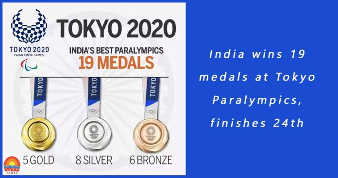 India-wins-19-medals-at-Tokyo-Paralympics-cover-utkal-today